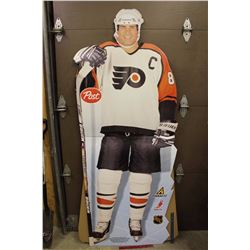 "Eric Lindros Stand Up Life Sized Cardboard Cut Out (80"" Tall)"
