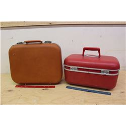 Small Vintage Travel Suitcases (2)