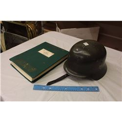 WWII German Army Helmet W/ Restricted Weapons Manual