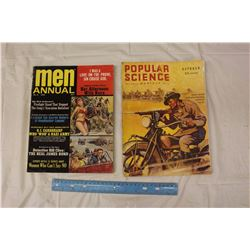 Lot Of Vintage Magazines (Mens Annual, Popular Science)