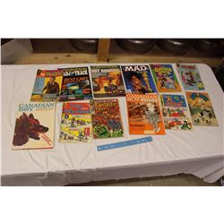 Lot Of Vintage Comics And Magazines