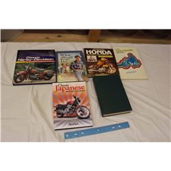Lot Of Motorcycle Books And Misc. Books
