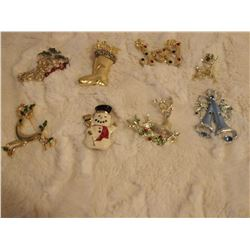Christmas Brooches (8)