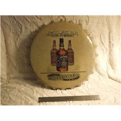 Jack Daniels Bottle Cap Metal Sign