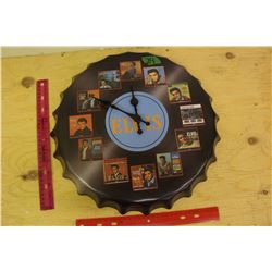 Elvis Record Clock Featuring 1956-1967 Albums