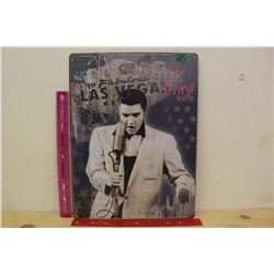 "Elvis Metal Sign (12""x16"")"