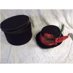Ladies Hat& Hat Box