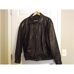 Men's Leather Jacket (Moores Label Size XL)