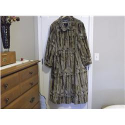 Faux Fur Coat (Size XL)