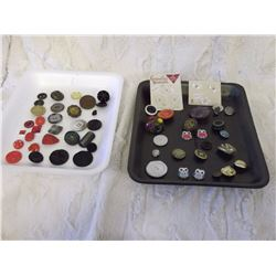 Collector's Clothing Buttons (Aprox 60)