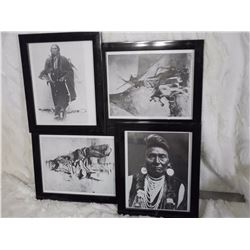 Collage Of Indian Chiefs Photos