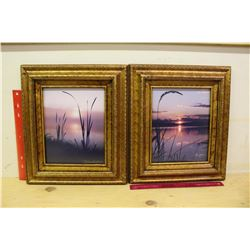 Pair of Candle Lake Photos by Dennis Chamberlain