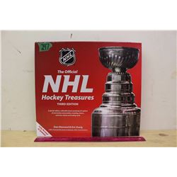 NHL Hockey Treasures (30 Replicas of Rare Memorabilia)