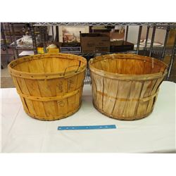 Pair Of Apple Baskets