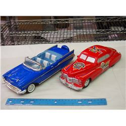 Pair Of Toy Cars