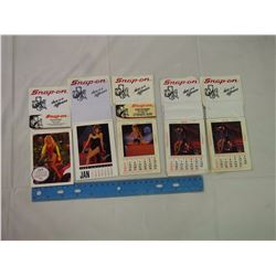Lot Of Snap on Mini Calendars (5)