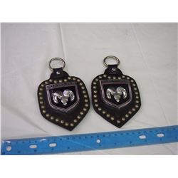 Pair Of Dodge Key Chains