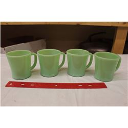 Fire King Oven Ware Cups (4) (No Chips)