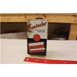 Chantecler Cigarette Paper Display