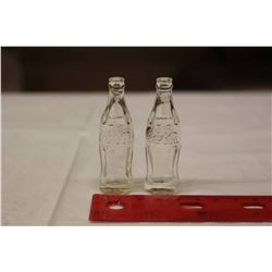 Miniature Coke Bottles (2)