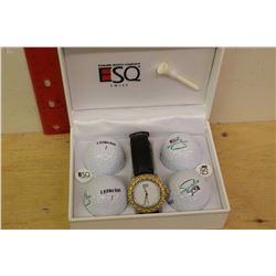 Esquire Watch Co. ESQ Watch w/Golf Balls(4)(NIB)