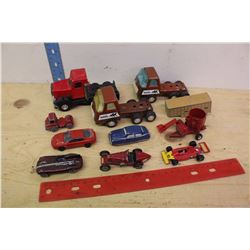 Lot of Toy Cars, Tractors& Trucks