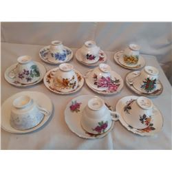 10 Sets of Cups And Saucers