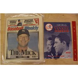 Vintage New York Yankee Collectibles
