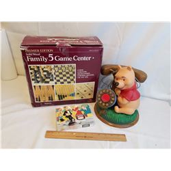 Winnie The Pooh Telephone, Family Game Box& Blondie Puzzle