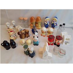 18 Sets of Salt&Pepper Shakers