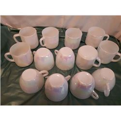 Fire King Iridescent Cups& Mugs