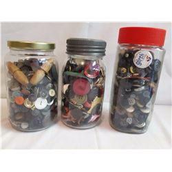3 Jars of Buttons