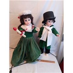 Christmas Caroller Decorations (2)
