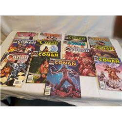 The Savage Sword of Conan Comics(13)(Ranging From #117 to #219)