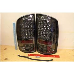 NOS, Pair Spyder LED Tail Lights, Scratch And Dent, New in Box!