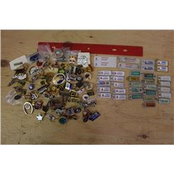 Lot of Pins& War Amp Tags (Vintage)