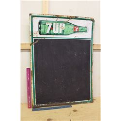 7 Up Blackboard