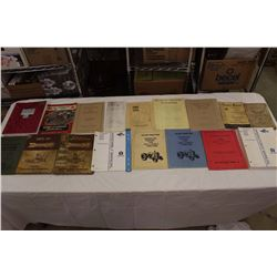 Lot Of Tractor And Implement Manuals