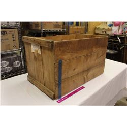 """Large Wooden Crate (30""""x17""""x17"""")"""