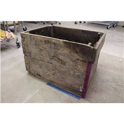 """Large Wooden Crate (24""""x18""""x16"""")"""