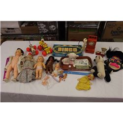 Lot of Vintage Toys (Fisher Price, Dolls, Etc)