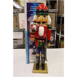 """Deluxe Hand Painted Wood Nutcracker (20"""" Tall)"""
