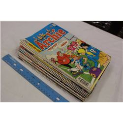 26 Comic Books(1970s-80s)(Archie, Justice League America, Etc)