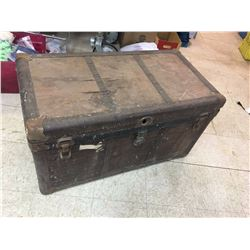 """Old Trunk 37 1/2"""" x 20"""" x 21 1/2"""""""