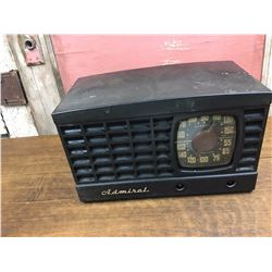 Admiral Antique Radio