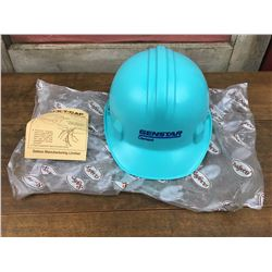 Un-Used Baby Blue Safe-co Hard Hat & Liner, CSA Approved