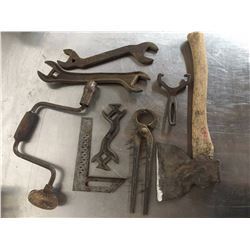 Antique Tool Lot (8)