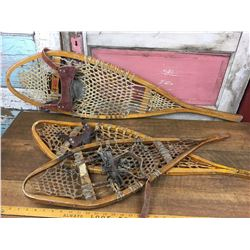 Lot of Snow Shoes - No Pairs (3)