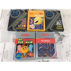 Lot Of Cleaned And Tested Boxed Atari Games (5)