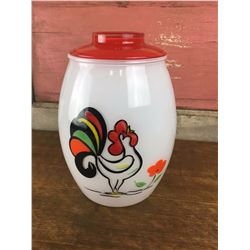 Original Vintage Bartlett Collins Rooster Cookie Jar